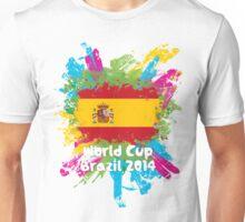World Cup Brazil 2014 - Spain Unisex T-Shirt
