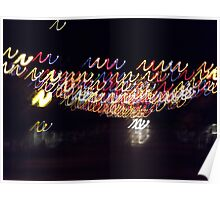 Coloured lights colored lights Poster