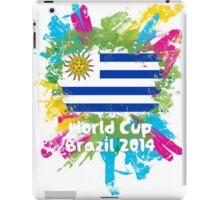 World Cup Brazil 2014 - Uruguay iPad Case/Skin