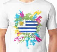 World Cup Brazil 2014 - Uruguay Unisex T-Shirt