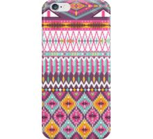 Native american seamless tribal pattern with geometric elements iPhone Case/Skin