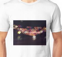 Coloured lights colored lights Unisex T-Shirt