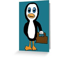 Is This Your Purse Penguin Greeting Card