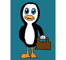 Is This Your Purse Penguin Photographic Print