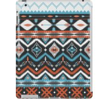 Native american seamless tribal pattern with geometric elements iPad Case/Skin