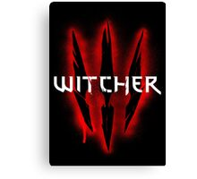 The Witcher 3 - Wild Hunt Canvas Print