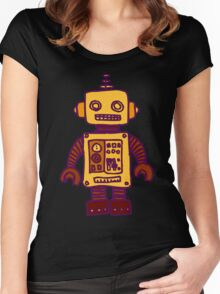 Robot Women's Fitted Scoop T-Shirt