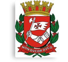Coat of Arms of São Paulo Canvas Print