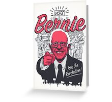 Bernie Sanders Revolution Greeting Card
