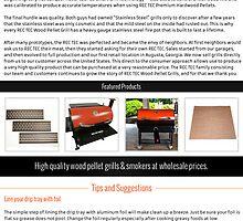 Wood pellet barbecue grills by rectecgrills