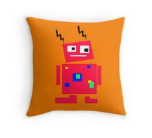 Little Robot Cushion... Throw Pillow
