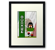 World Cup 2014: Mexico Framed Print