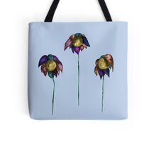 flowers in the basement Tote Bag