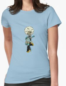 Afro PopCorn by LolitaTequila Womens Fitted T-Shirt