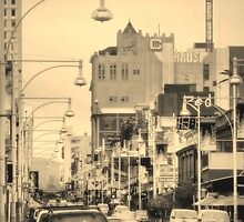 Hindley Street by Dean Wiles