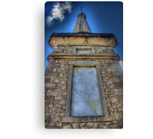 Monument to the fallen Canvas Print