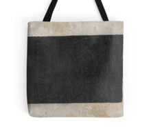 Kazimir Malevich - Black Quadrilateral. Abstract painting: abstract art, geometric, expressionism, composition, lines, forms, creative fusion, spot, shape, illusion, fantasy future Tote Bag