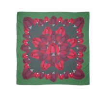 Red Rose Bud  Scarf