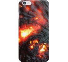 Flaming Seashell 4 iPhone Case/Skin