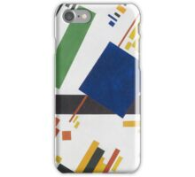 Kazimir Malevich - Suprematist Composition. Abstract painting: abstract art, geometric, expressionism, composition, lines, forms, creative fusion, spot, shape, illusion, fantasy future iPhone Case/Skin