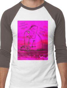 In the Pink Men's Baseball ¾ T-Shirt