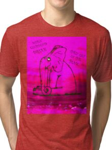 In the Pink Tri-blend T-Shirt