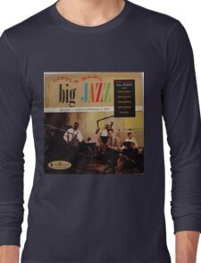 jazz lp on crown Long Sleeve T-Shirt