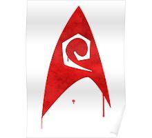Star Trek - Watercolour Tactical Poster