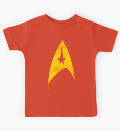 Star Trek - Watercolour Command Kids Tee