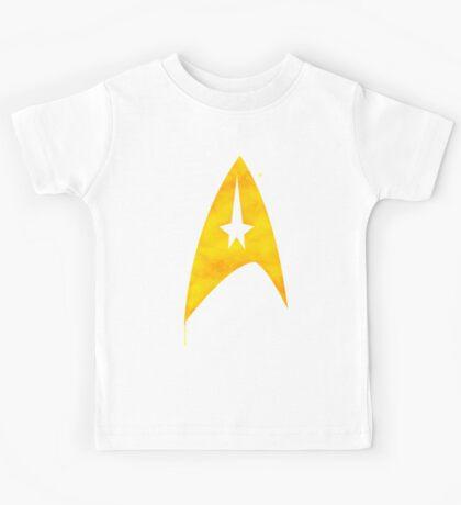 Star Trek - Watercolour Command Kids Tee