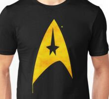Star Trek - Watercolour Command Unisex T-Shirt
