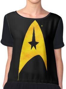 Star Trek - Watercolour Command Chiffon Top