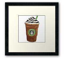 Starbucks Frappuccino Framed Print