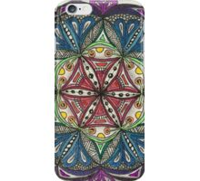 Flower of Life ZIA: Mary iPhone Case/Skin