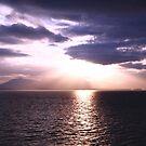 Sailing Away From Ketchikan  by Elizabeth  Lilja