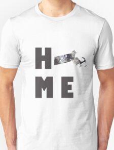 """Massachusetts """"HOME"""" Unisex T-Shirt"""