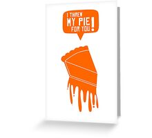 Orange Is The New Black - Quotes [1] Greeting Card