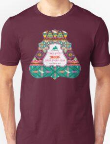 Aztec geometric seamless  colorful pattern T-Shirt