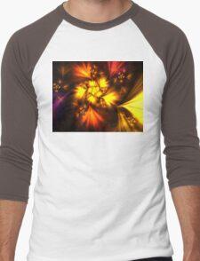 Copper Blooms Men's Baseball ¾ T-Shirt