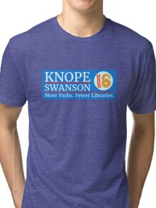 Vote Knope Swanson for Breakfast 2016 Tri-blend T-Shirt