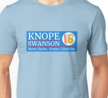 Vote Knope Swanson for Breakfast 2016 Unisex T-Shirt