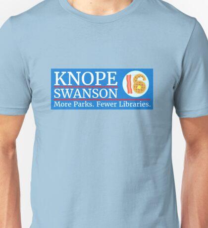 Vote Knope Swanson for Breakfast 2016 Unisex T-Shirt