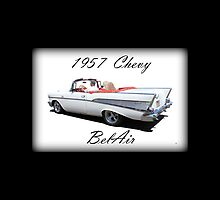 1957 Chevy BelAir iPad Case by Betty Northcutt