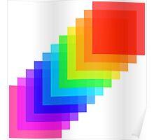 Pixel colors Poster