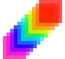 Pixel colors Photographic Print