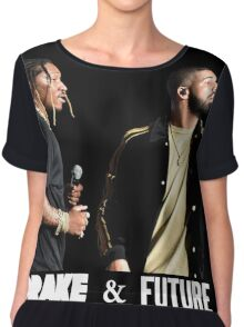 YUDI04 Drake & Future Summer Sixteen Tour 2016 Chiffon Top