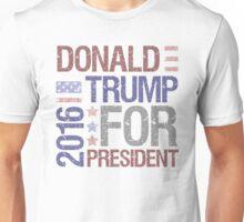 Trump For President Vintage Unisex T-Shirt
