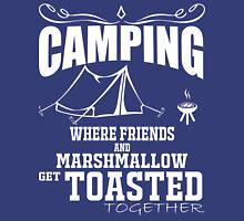 camping marshmallow get toastoed Unisex T-Shirt