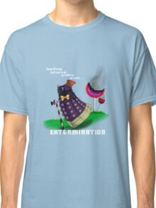 Dalek and the chocolate factory Classic T-Shirt