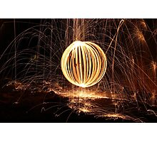 Let the Sparks Fly Photographic Print